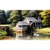 York Wallcoverings Portfolio II Old Mill with Weathered Wood Mill Wall Mural