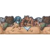 <strong>York Wallcoverings</strong> Mural Portfolio II Plush Toy Country Wallpaper Border