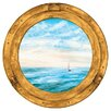 <strong>Portfolio II Trompe L'Oiel Porthole Accent Wall Mural</strong> by York Wallcoverings