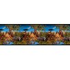 York Wallcoverings Mural Portfolio II Jungle Scene Wallpaper Border