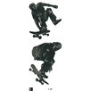 <strong>Portfolio II Skate Boarders Wall Mural</strong> by York Wallcoverings