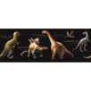 York Wallcoverings Mural Portfolio II Jurassic Pre-Historic Landscape and Animal Wallpaper Border