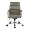 Office Star Products Executive Mid Back Faux Leather Chair