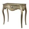 Office Star Products Inspired by Bassett Renata Console Table in Champagne