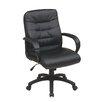 <strong>Mid Back Executive Chair with Padded Arms</strong> by Office Star Products