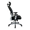 "<strong>Space 22.5"" Eco Leather Seat Chair with Headrest</strong> by Office Star Products"