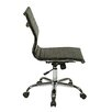 "Office Star Products WorkSmart 18"" Chair with Built-in Lumbar Support"