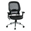 "<strong>Space 23"" Professional Air Grid Chair with Eco Leather Seat</strong> by Office Star Products"