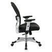 "<strong>Space 22.5"" Eco Leather Seat Chair</strong> by Office Star Products"