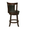 """Office Star Products OSP Designs 24"""" Swivel Bar Stool with Cushion"""