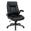 <strong>Office Star Products</strong> Mid Back Managers Chair with Padded Flip Arms