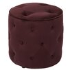 Office Star Products Ave Six Curves Tufted Ottoman