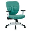 Office Star Products Pulsar Mesh Managers Chair with Height Adjustable Flip Arms