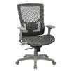 Office Star Products ProGrid High-Back Mesh Manager Chair with Adjustable Arm