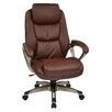 Office Star Products Executive Leather Chair