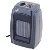 Comfort Zone 1500 Watt Compact Ceramic Space Heater with Adjustable Thermostat
