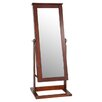 <strong>Powell Furniture</strong> Cheval Jewelry Armoire with Mirror