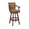 "<strong>Brandon Cherry 30"" Swivel Bar Stool with Cushion</strong> by Powell Furniture"