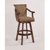 "<strong>Powell Furniture</strong> Brandon Cherry 30"" Swivel Bar Stool with Cushion"