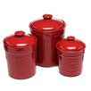 Signature Housewares Sorrento 3 Piece Canister Set