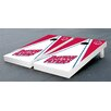 Victory Tailgate NCAA Triangle Wooden Cornhole Game Set
