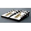 Victory Tailgate Saxophone Themed Cornhole Game Set