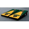 Victory Tailgate NCAA Triangle Wooden Logo Cornhole Game Set