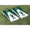 Victory Tailgate NCAA Michigan State Spartans Triangle Sparty Version Cornhole Game Set