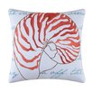 C & F Enterprises Nautilus Shell Embroidered Pillow