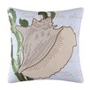 C & F Enterprises Conch Shell Embroidered Pillow