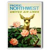 Americanflat Pacific North West Vintage Advertisement on Canvas