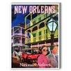 Americanflat New Orleans National Airways Vintage Advertisement Graphic Art