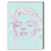Americanflat Marilyn Monroe Graphic Art on Canvas