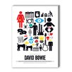Americanflat David Bowie Graphic Art on Canvas