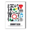 Americanflat Johnny Cash Graphic Art on Canvas