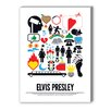 Americanflat Elvis Presley Graphic Art on Canvas