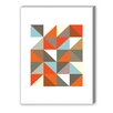 Americanflat Harlequin 3 Graphic Art on Canvas