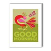<strong>Good Morning Cockerel Graphic Art on Canvas</strong> by Americanflat