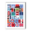 Americanflat London Graphic Art on Canvas