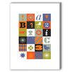 Americanflat Mid Century Medley Graphic Art on Canvas