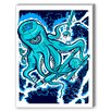 Americanflat Octopus Graphic Art on Canvas