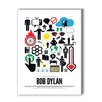 Americanflat Bob Dylan Graphic Art on Canvas