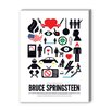 Americanflat Bruce Springsteen Graphic Art on Canvas