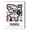 Americanflat The Beatles Graphic Art on Canvas