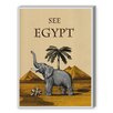 Americanflat See Egypt Graphic Art on Canvas