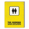 Americanflat The Shining Graphic Art on Canvas
