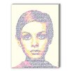 Americanflat Twiggy Graphic Art on Canvas