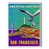 Americanflat San Francisco American Airlines Vintage advertisements Graphic Art
