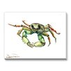 Americanflat Crab Painting Print on Canvas