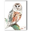 Americanflat Owl 2 Painting Print on Canvas